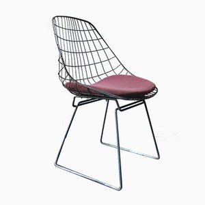 Mid-Century SM05 Side Chair by Cees Braakman for Pastoe, 1950s