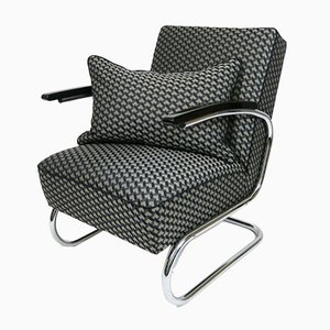 Vintage S411 Lounge Chair from Mücke Melder