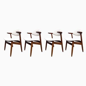 Dining Chairs by Tijsseling for Hulmefa Nieuwe Pekela, 1950s, Set of 4