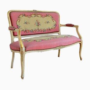 Canapé Style Louis XV Vintage, 1970s