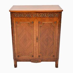 Antique French Gilt Bronze and Kingwood Cabinet, 1920s