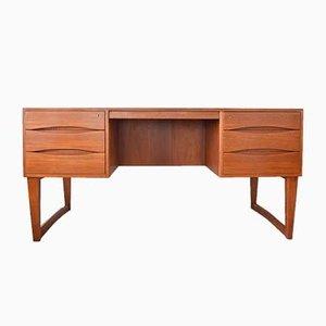 Mid-Century Schreibtisch aus Teak von Arne Vodder für Sibast, 1960er