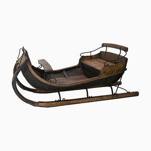 Antiker Schlitten aus Holz