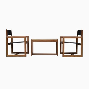 Mid-Century Armchairs by Andre Sornay, Set of 2