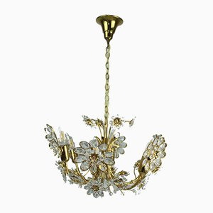 Gilded Chandelier from Palwa, 1960s