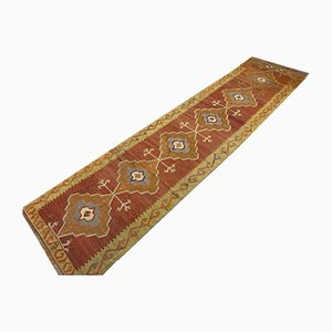 Vintage Turkish Kilim Runner, 1950s