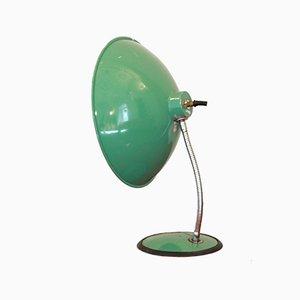 Lámpara de mesa industrial vintage, años 50