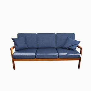 Teak Senator Sofa by Ole Wanscher for Cado, 1960s