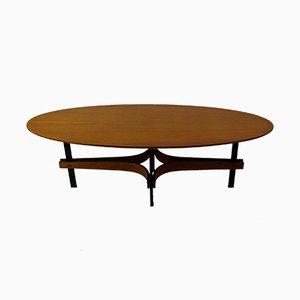 Table Basse en Teck, Italie, 1950s