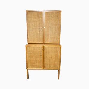 Mid-Century Cherry Wood Cabinet, 1970s