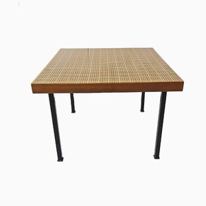 Woven Cane Coffee Table, 1960s