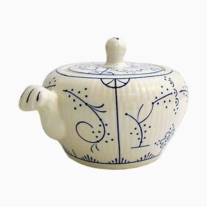 Mid-Century Ceramic Sugar Bowl from Boch Frères, 1950s