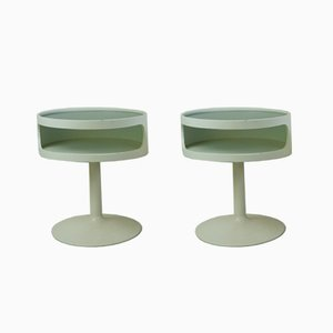 German Side Tables from Opal Möbel, 1960s, Set of 2