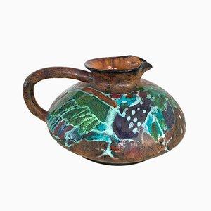 Italienischer Keramikbehälter von Bruno Baratti Pesaro, 1950er