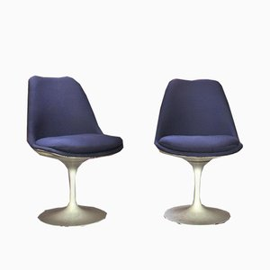 Sedie Tulip girevoli di Eero Saarinen per Knoll Inc. / Knoll International, anni '60, set di 2