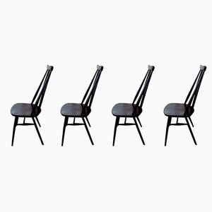 Mid-Century Dining Chairs from Ercol, Set of 4
