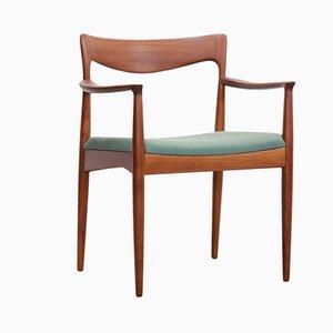 Armlehnstuhl aus Holz von Arne Vodder für Vamø, 1960er