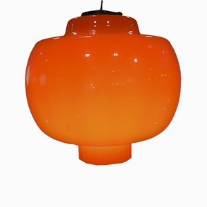 Italian Murano Glass Ceiling Lamp by Gino Vistosi for Vistosi, 1960s