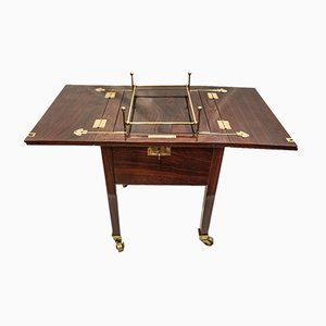 Antique Mahogany Side Table from Portois & Fix