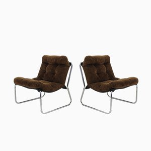 Bauhaus Lounge Chairs, 1960s, Set of 2