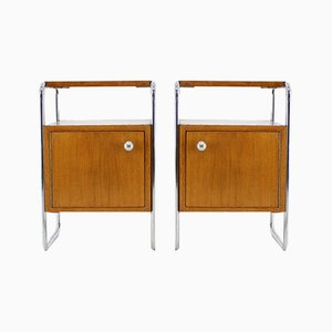 Bauhaus Side Tables, 1930s, Set of 2