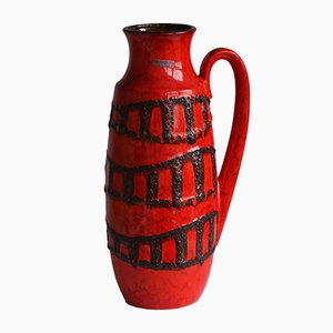 Mid-Century German Floor Vase from Scheurich, 1970s