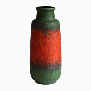 Mid-Century German Floor Vase from Scheurich, 1970s