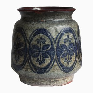 Dänische Mid-Century Vase von Michael Andersen & Marianne Starck für Bornholm, 1950er
