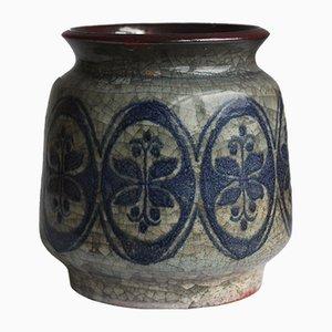 Vase Mid-Century par Michael Andersen & Marianne Starck pour Bornholm, Danemark, 1950s