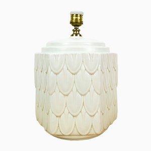 Lámpara de mesa española de Ceramica Bondia, años 60