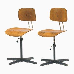Silla de escritorio vintage, años 60