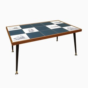 Mid-Century Tiled Coffee Table, 1960s
