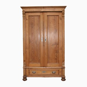 Antique German Softwood Cabinet