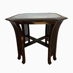 Tavolino da caffè vintage di Giorgetti, anni '70