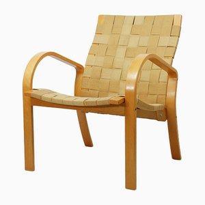 Minimalistischer Vintage Sessel, 1970er
