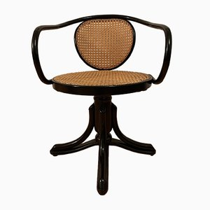 Antique Model 5501 Desk Chair by Michael Thonet for ZPM Radomsko
