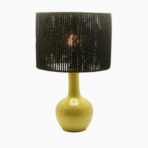 French Art Deco Table Lamp from Porcelaine de Paris, 1930s