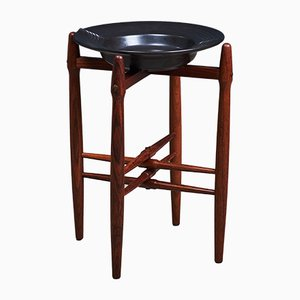 Mid-Century Rosewood Side Table by Poul Hundevad for Vamdrup, 1950s