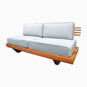 Vintage Sofa mit Gestell aus Kiefernholz