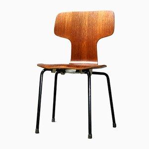 Chaise pour Enfant en Teck par Arne Jacobsen pour Fritz Hansen, 1966