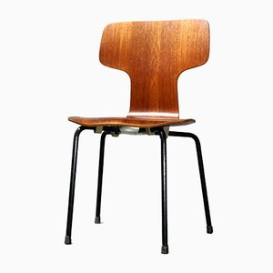 Teak Childrens Chair by Arne Jacobsen for Fritz Hansen, 1966