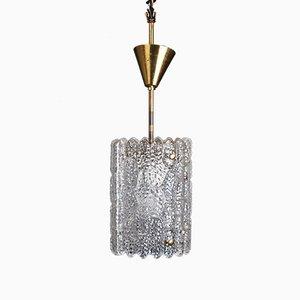 Lampe à Suspension Mid-Century par Carl Fagerlund pour Orrefors, 1960s