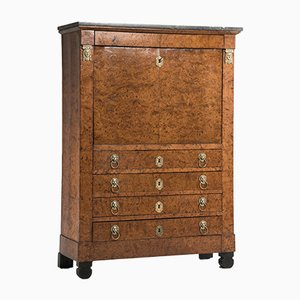 Antique French Elm Secretaire