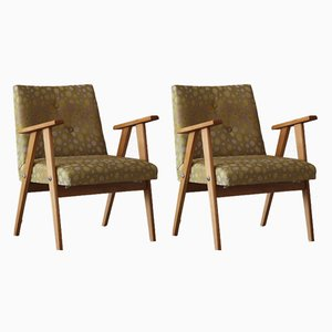Mid-Century Armchairs by Józef Chierowski, 1960s, Set of 2
