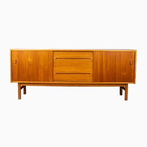 Swedish Arild Teak Sideboard by Nils Jonsson for Hugo Troeds, 1970s