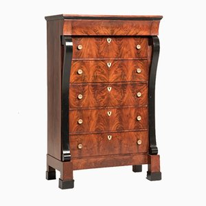 Antique French Mahogany Chest of Drawers