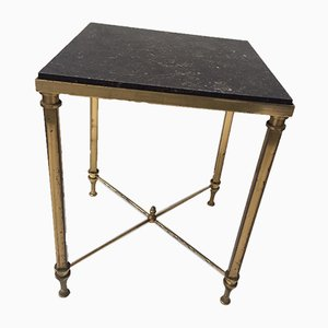Small Brass Side Table, 1960s