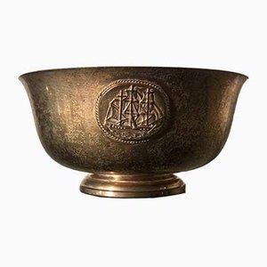 Cuenco Tiffany de cobre, años 20