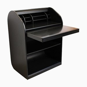 Model A'dammer Black Secretaire by Aldo Van den Nieuwelaar for Pastoe, 1970s