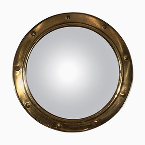 French Gold Conev Mirror, 1950s